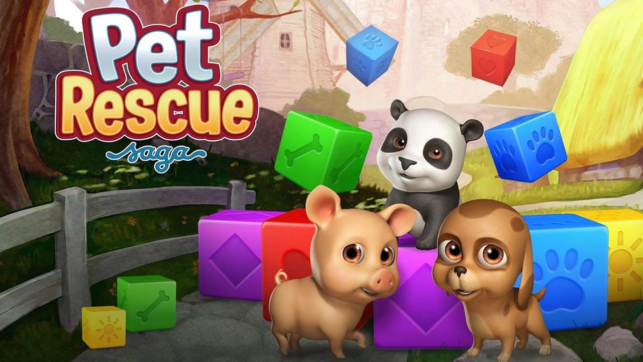 Pet Rescue Saga poster