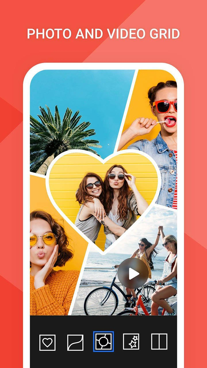 PhotoGrid & Video Collage Maker screen 0