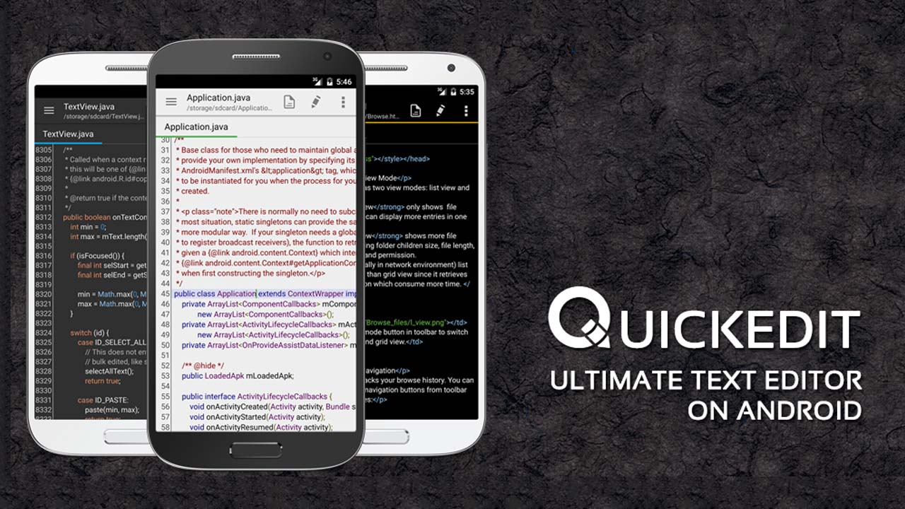 QuickEdit Text Editor poster