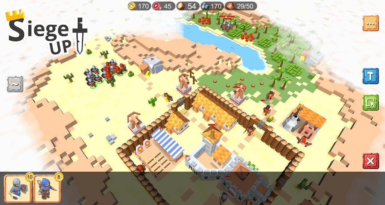 RTS Siege Up screen 2
