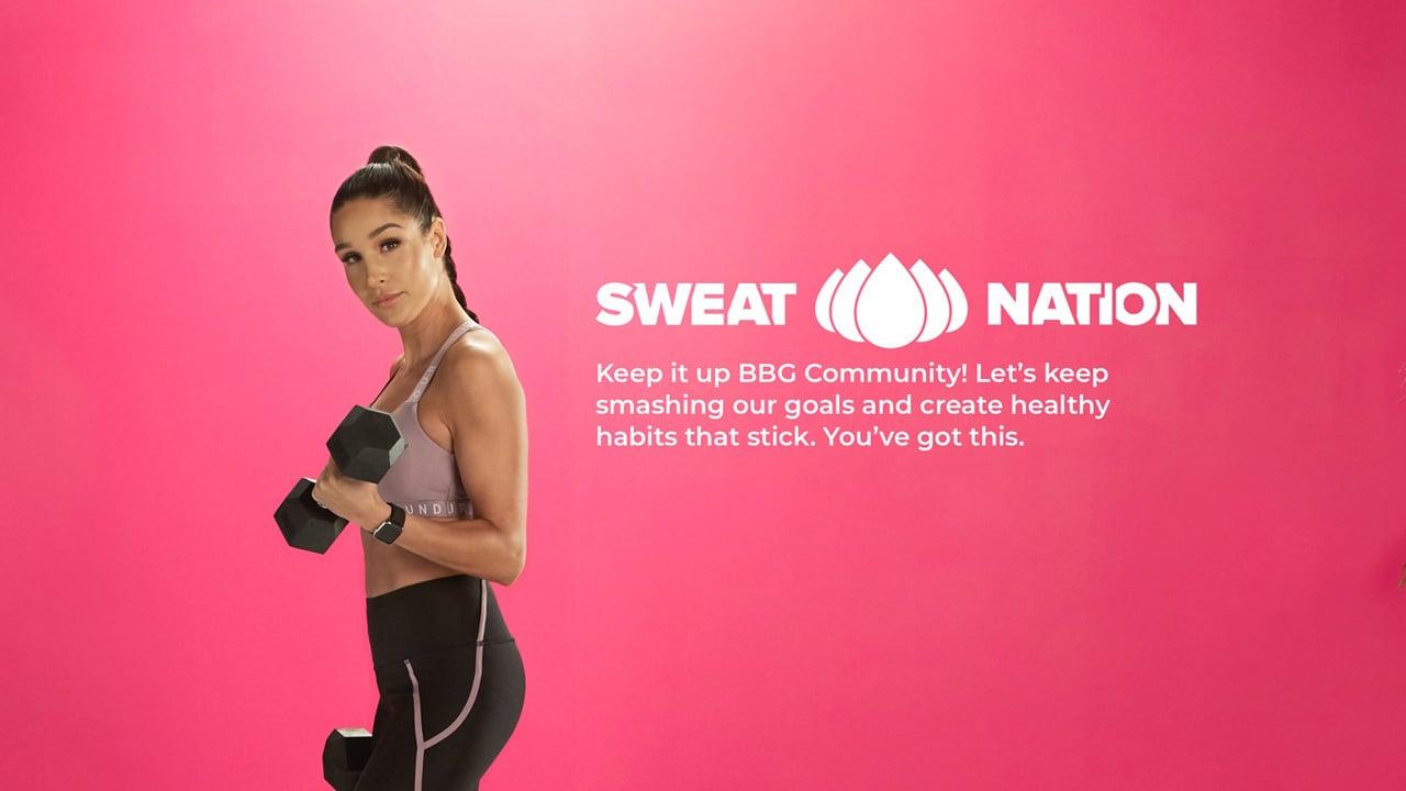 SWEAT Kayla Itsines Fitness poster