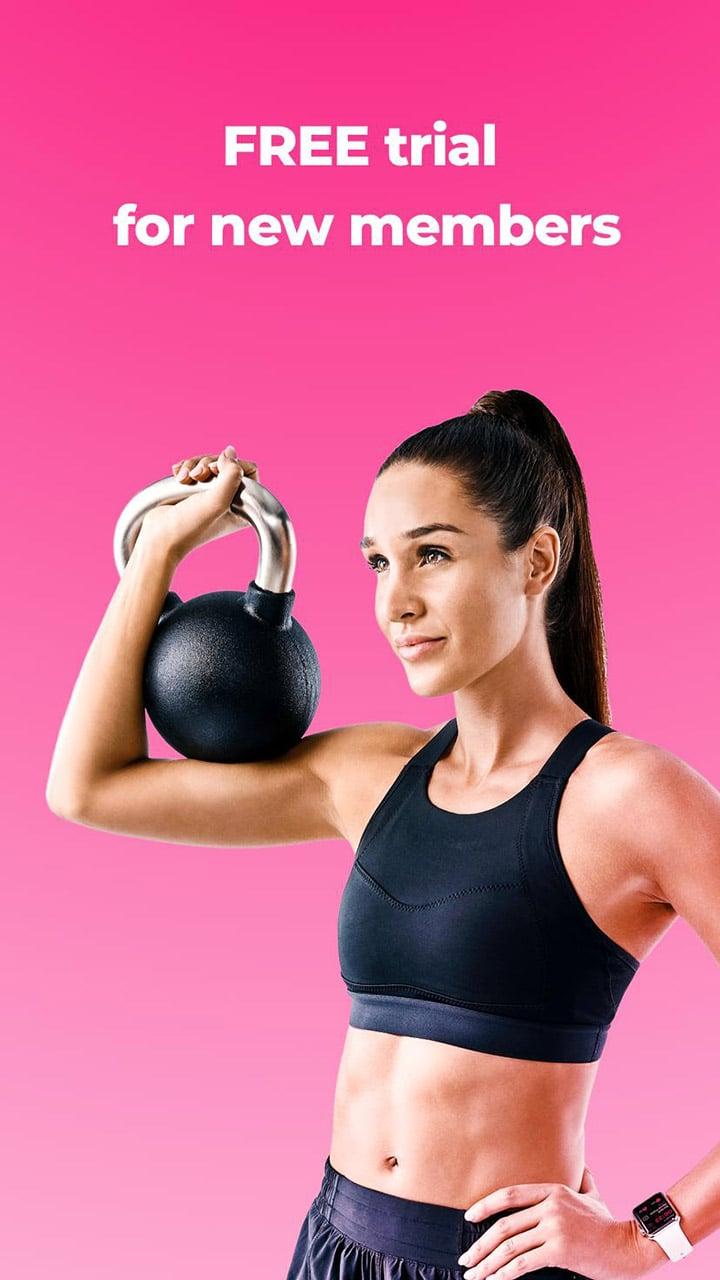 SWEAT Kayla Itsines Fitness screen 0