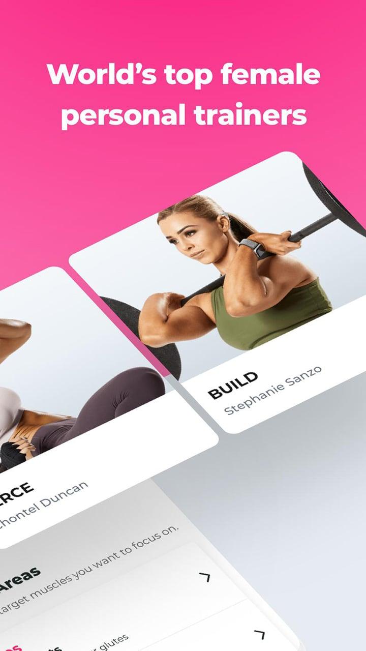 SWEAT Kayla Itsines Fitness screen 2
