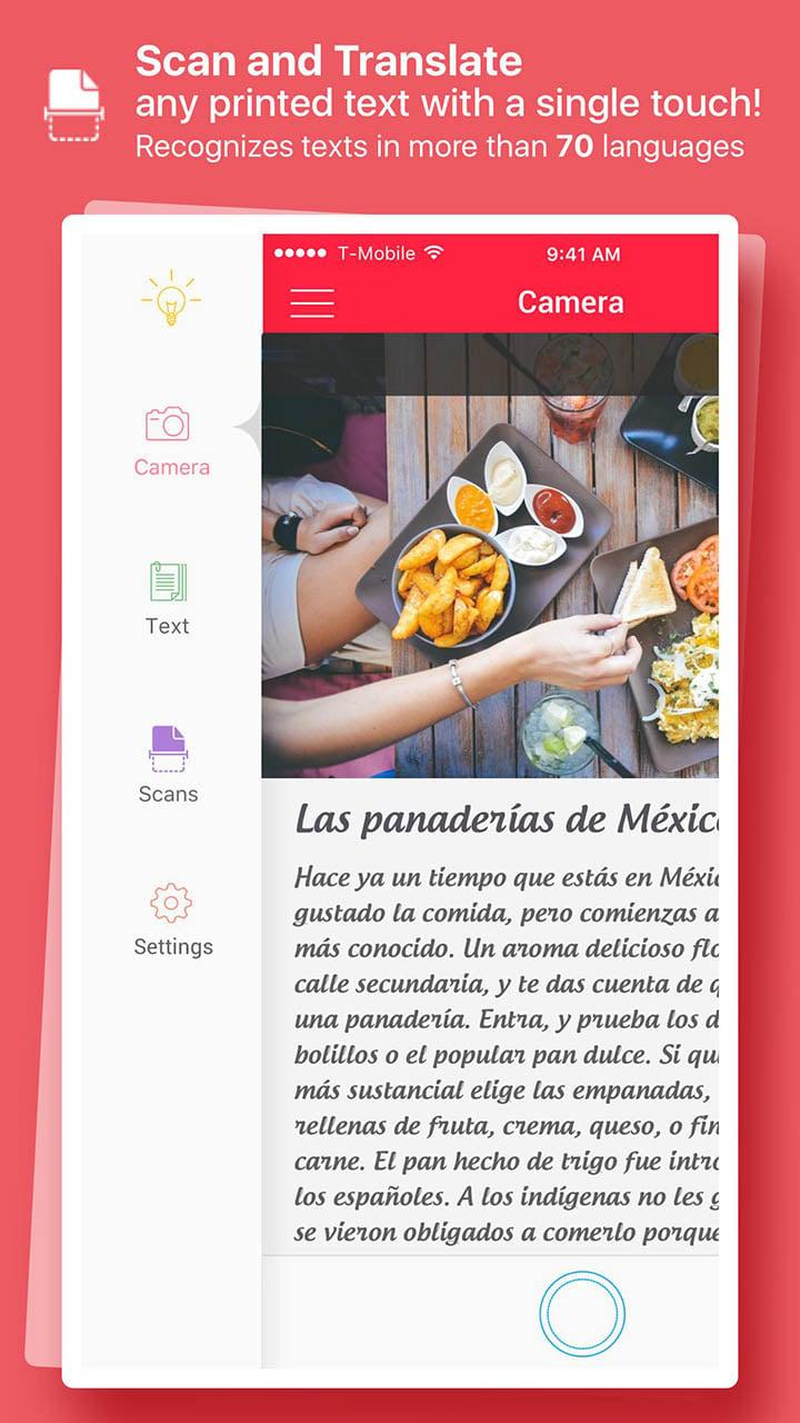 Scan & Translate Text Grabber screen 0