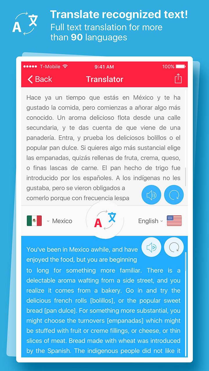 Scan & Translate Text Grabber screen 1