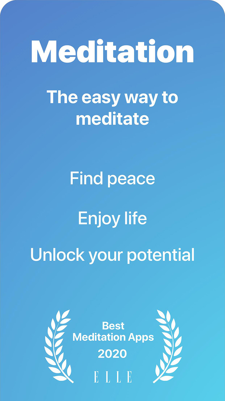 Serenity Guided Meditation & Mindfulness screen 0