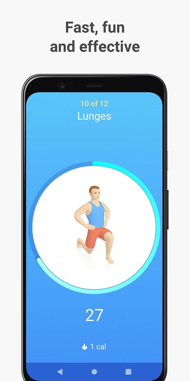 Seven 7 Minute Workout screen 0