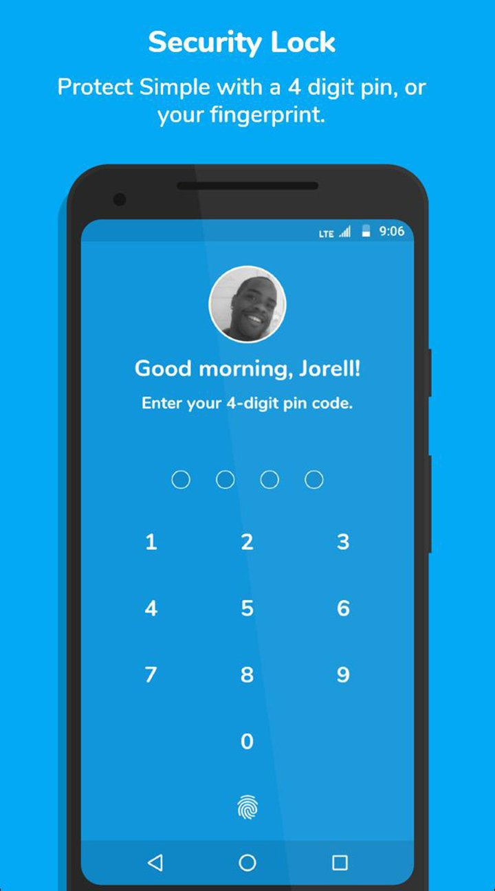 Simple Social screen 3
