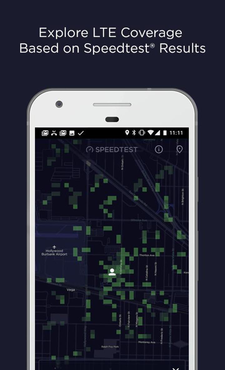 Speedtest screen 1