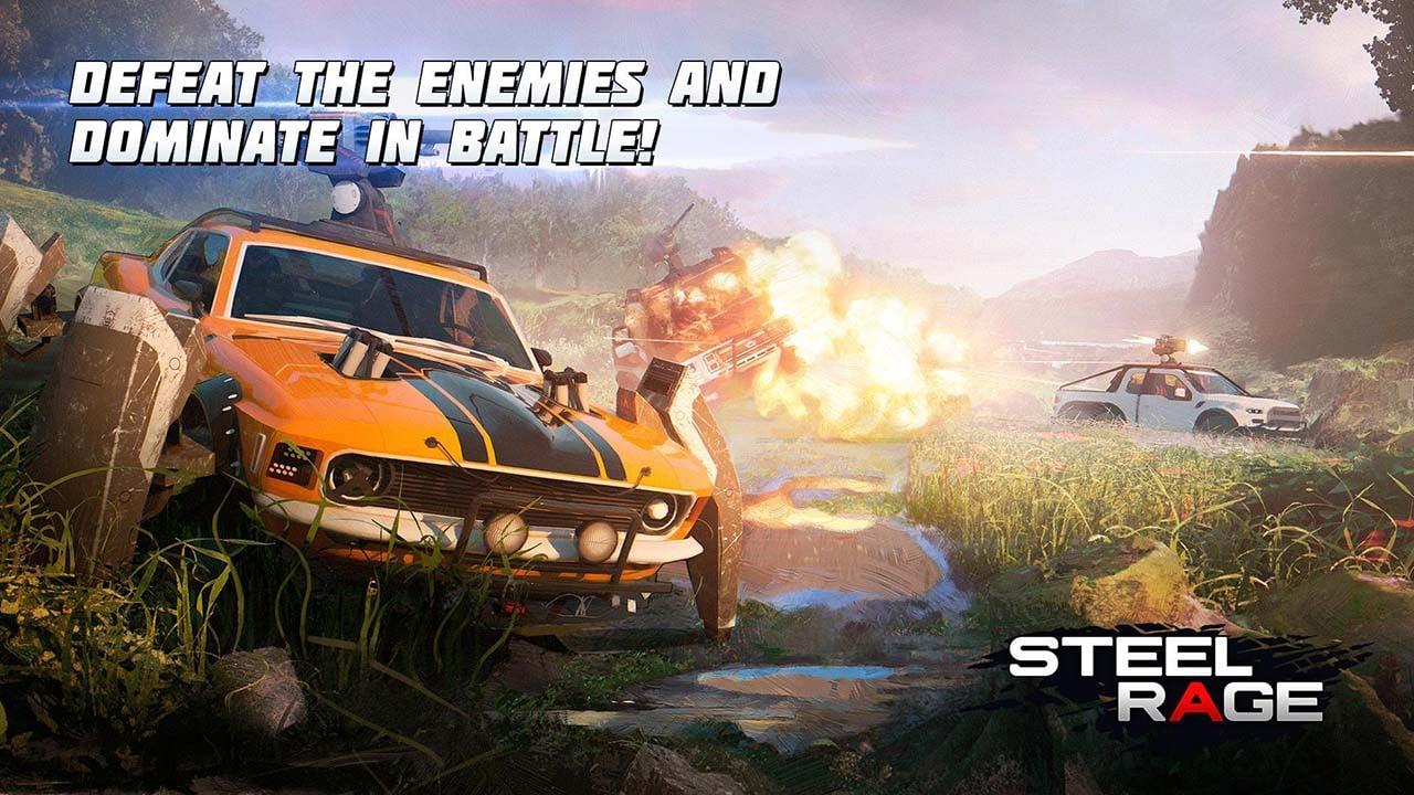 Steel Rage screen 1