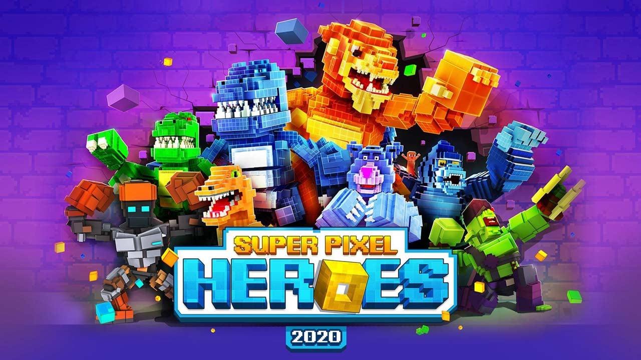 Super Pixel Heroes poster
