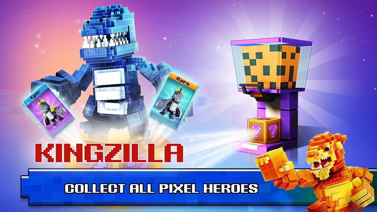Super Pixel Heroes screen 1