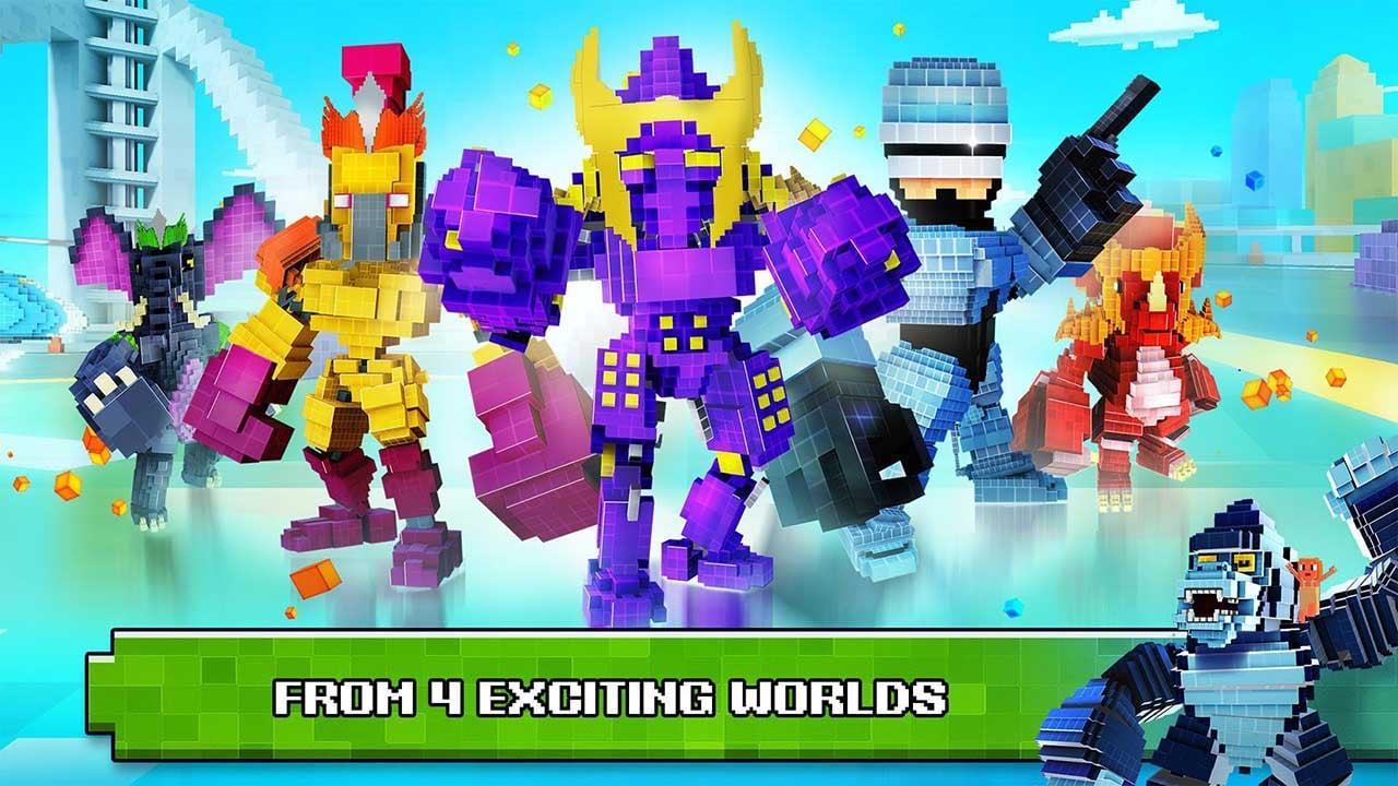 Super Pixel Heroes screen 2