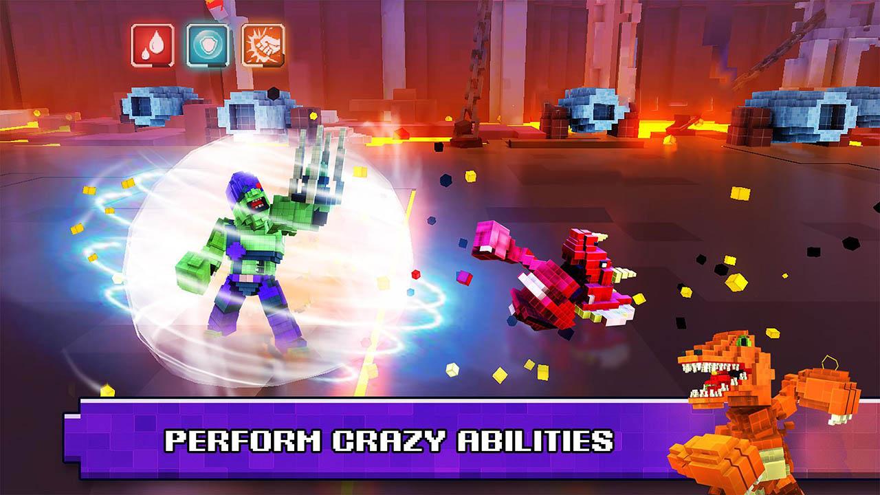 Super Pixel Heroes screen 3