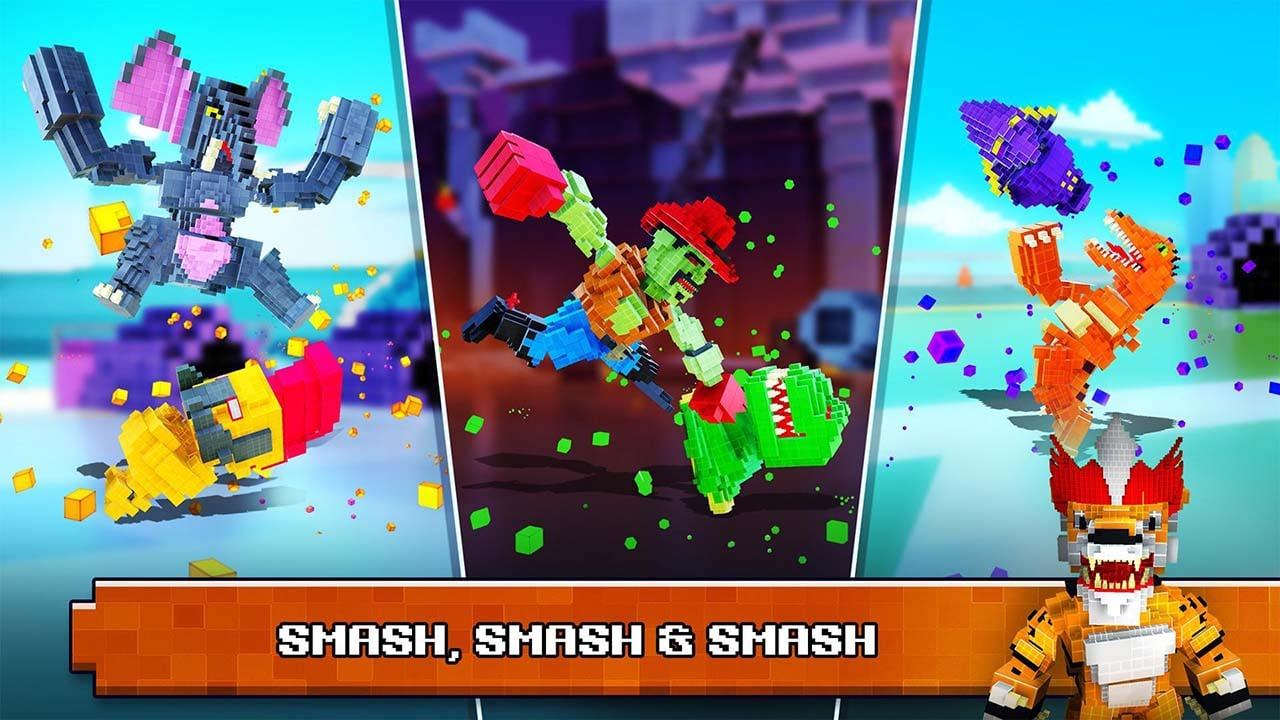 Super Pixel Heroes screen 4