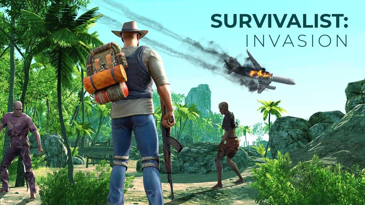 Survivalist invasion poster