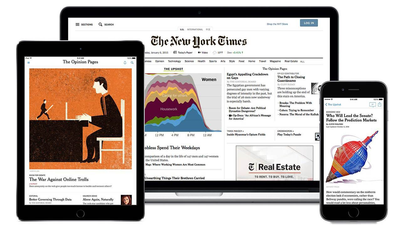 The New York Times poster
