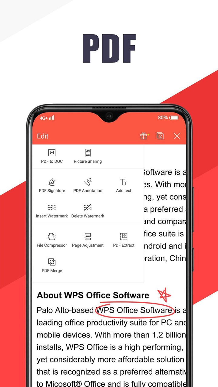 WPS Office screen 3
