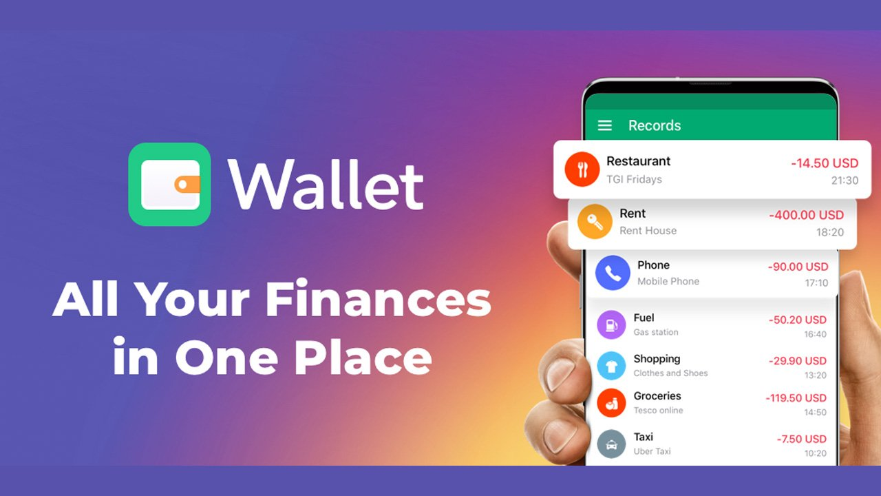 Wallet poster