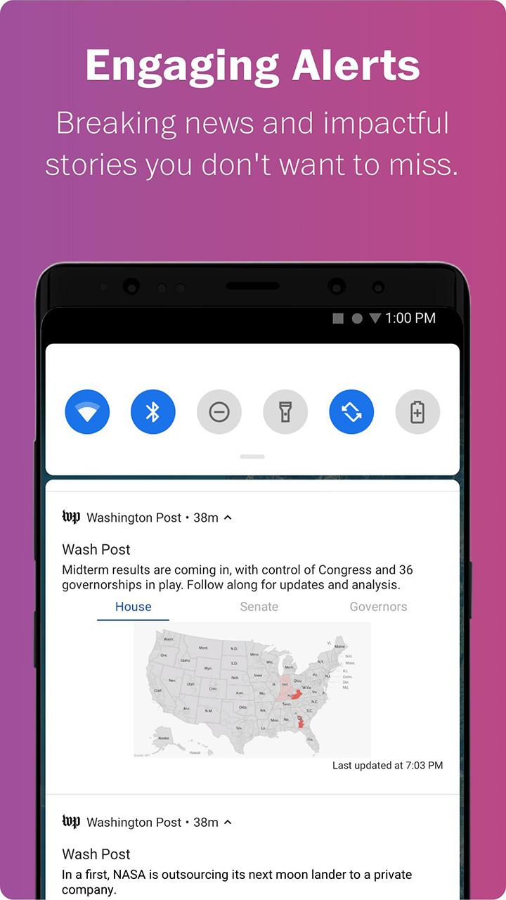 Washington Post Select screen 4