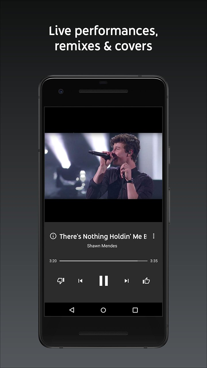 YouTube Music screen 2
