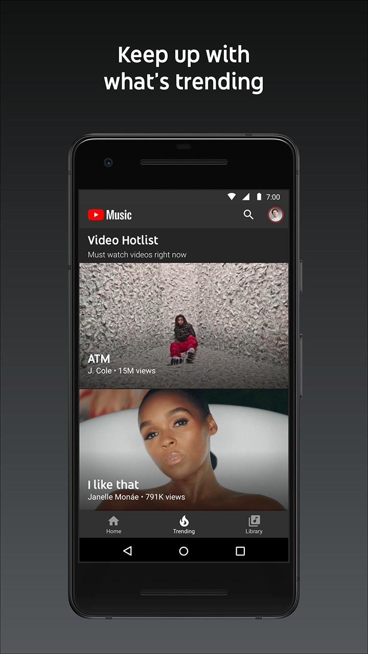 YouTube Music screen 3