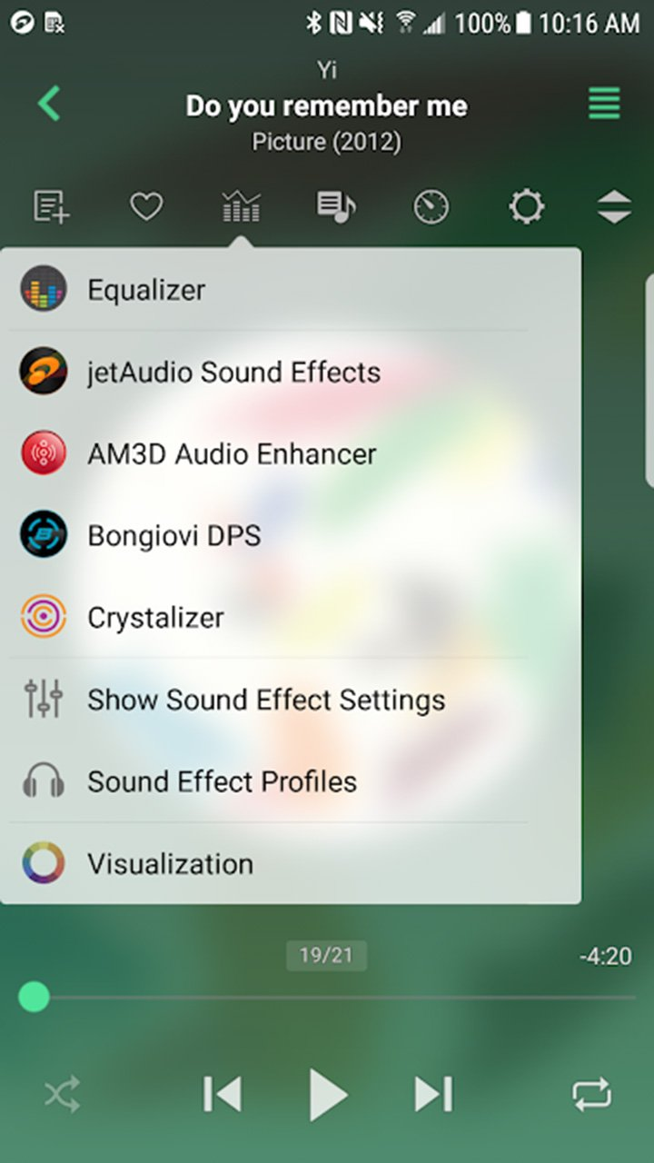 jetAudio HD Music Player Plus screen 1