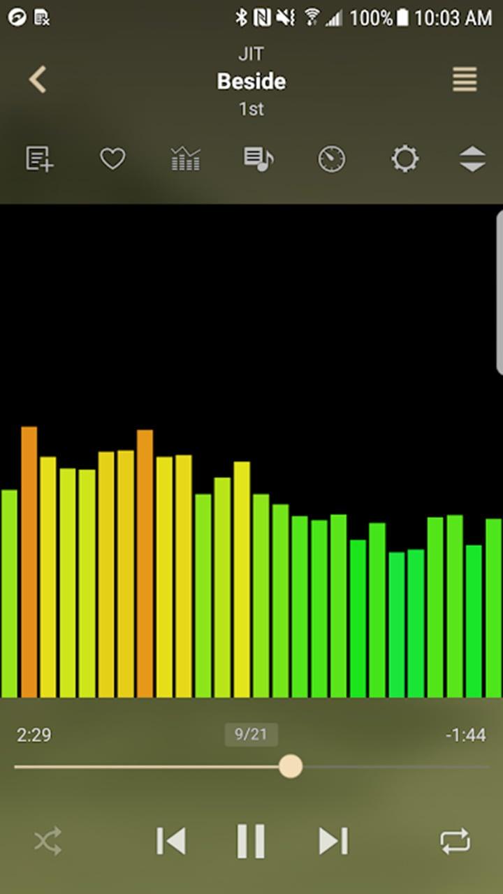 jetAudio HD Music Player Plus screen 3