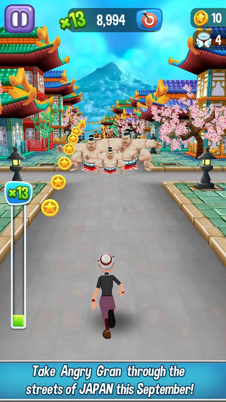Angry Gran Run screen 1