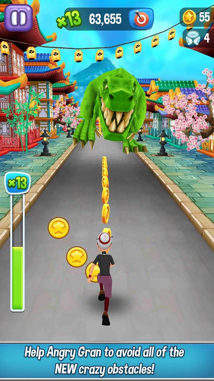 Angry Gran Run screen 4