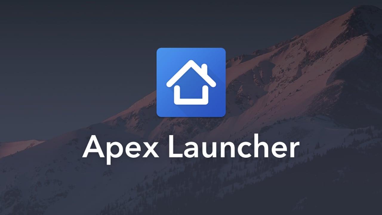Apex Launcher poster