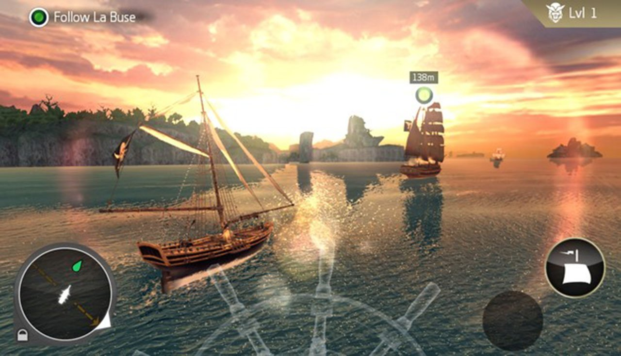 Assassin's Creed Pirates screen 5
