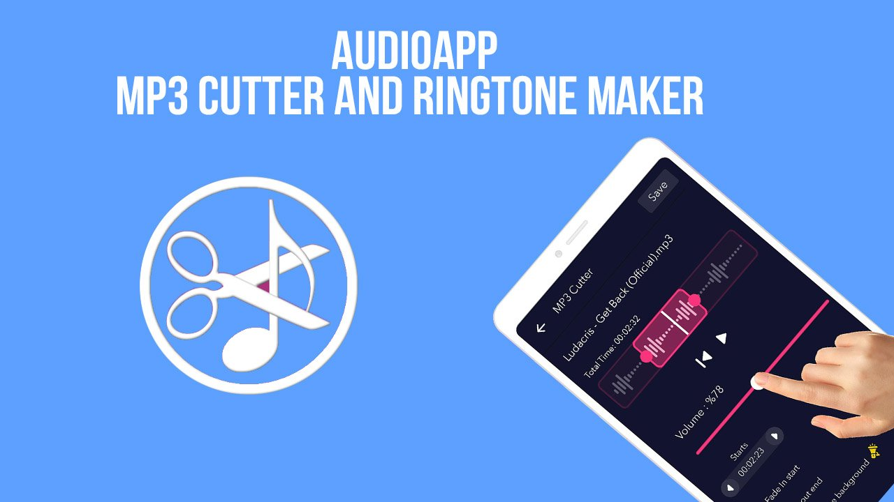 AudioApp MP3 Cutter and Ringtone Maker poster