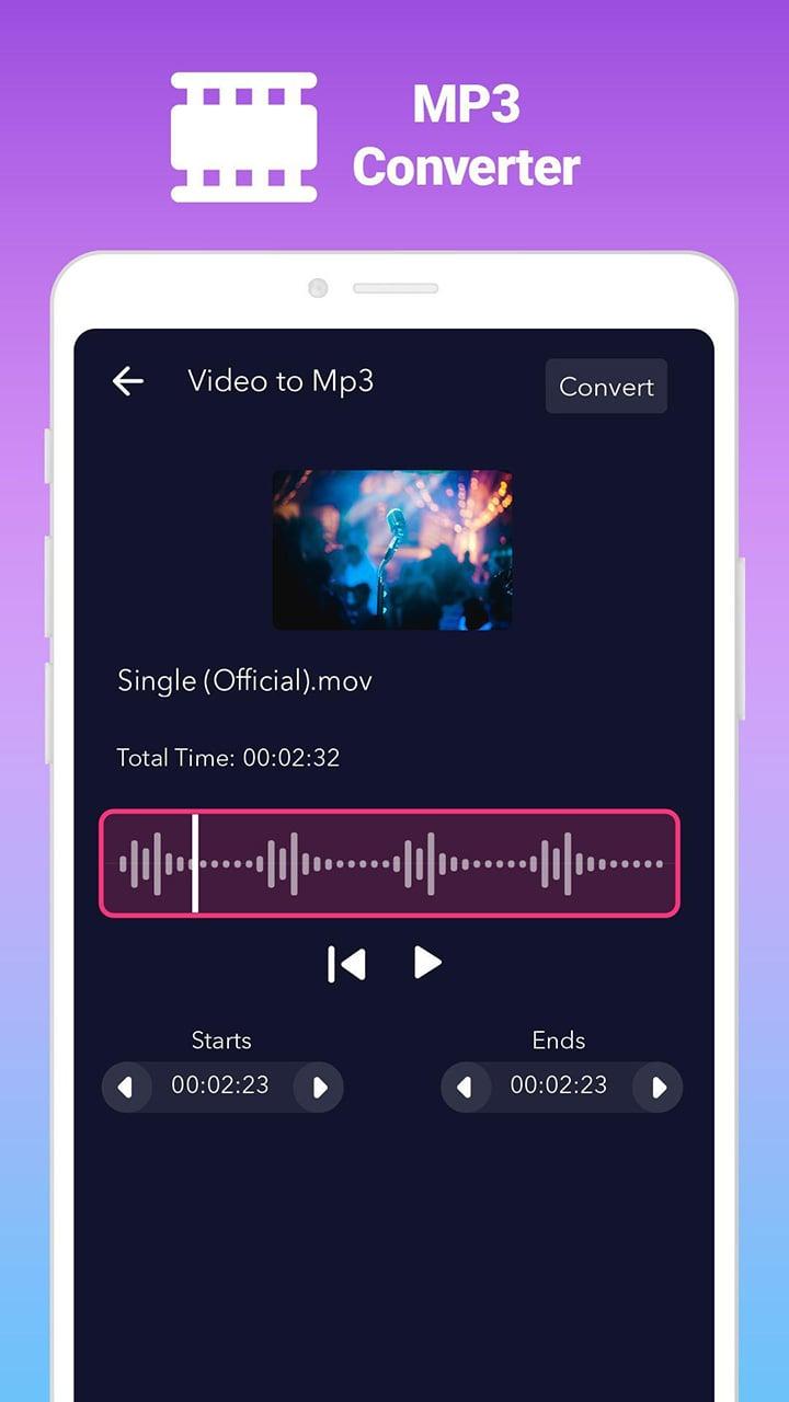 AudioApp MP3 Cutter and Ringtone Maker screen 3