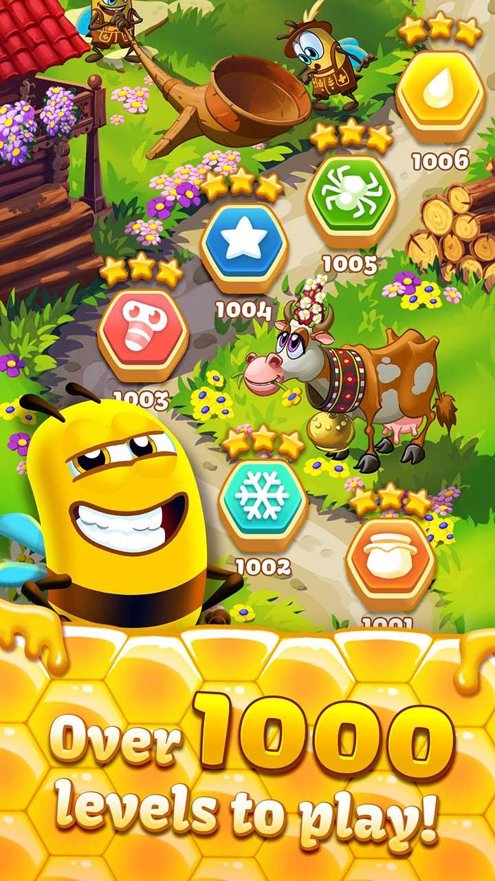 Bee Brilliant screen 2