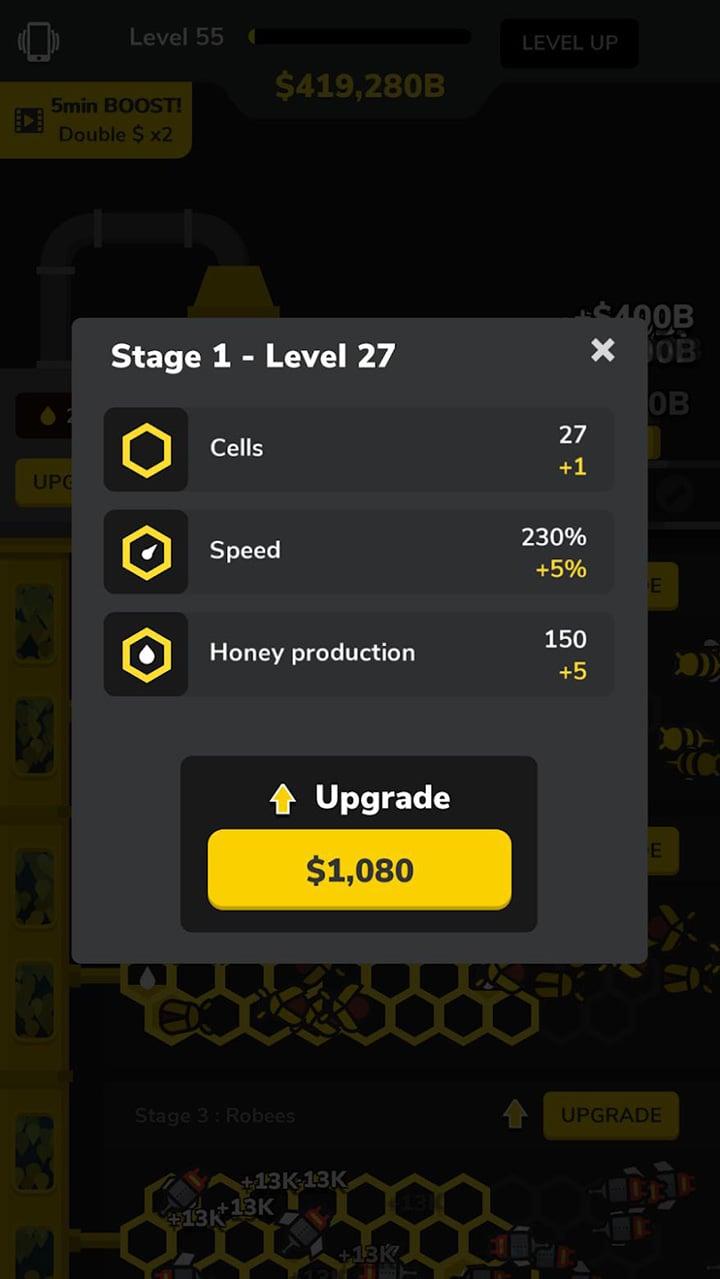 Bee Factory screen 1