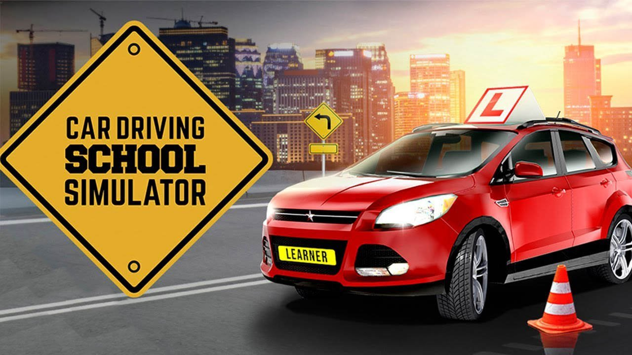 Car Driving School Simulator poster