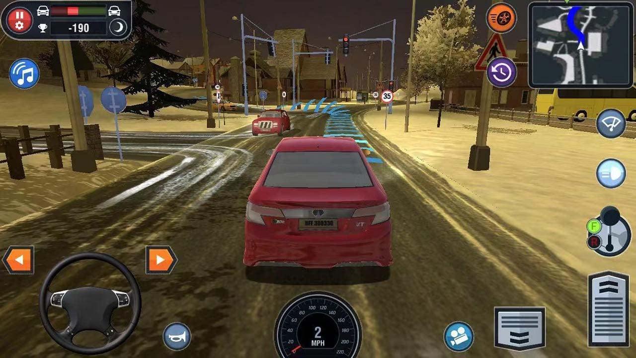 Car Driving School Simulator screen 0