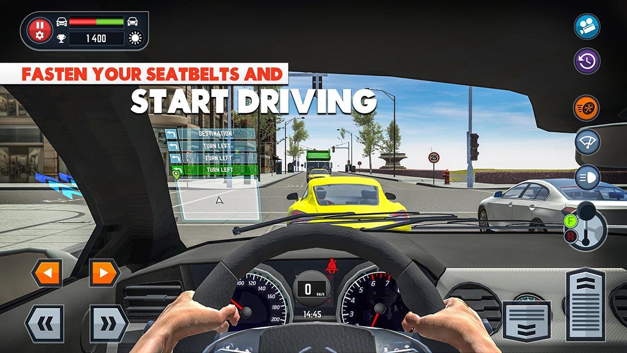 Car Driving School Simulator screen 2
