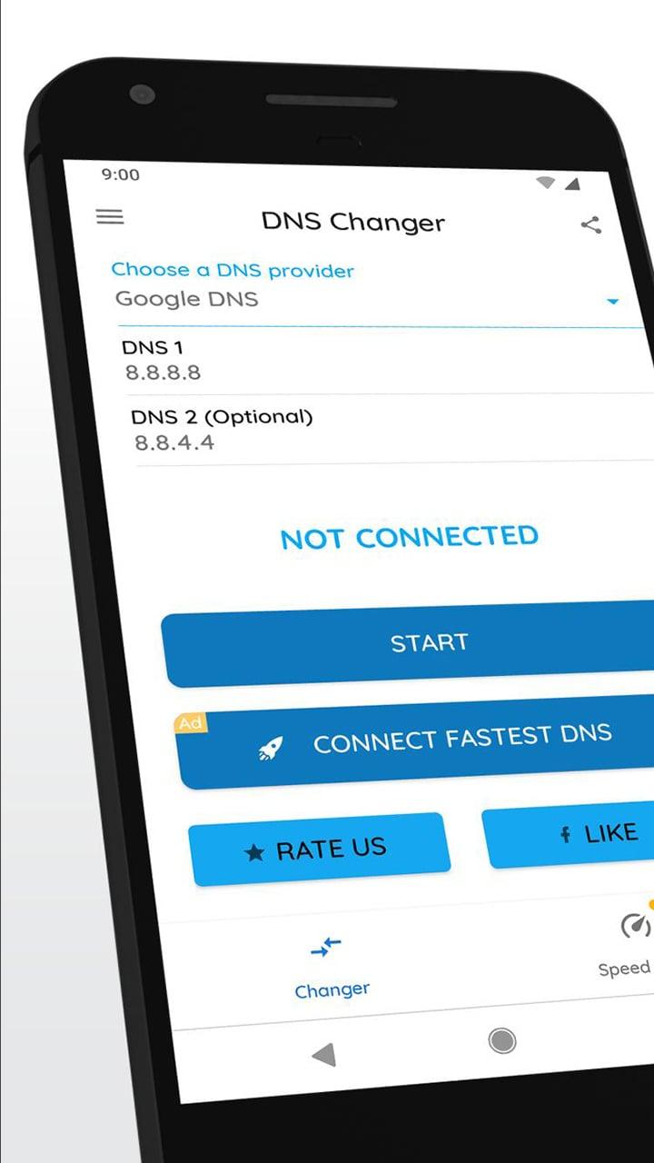 DNS Changer screen 0