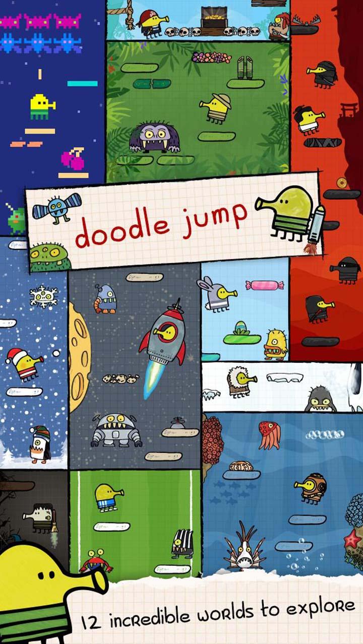 Doodle Jump screen 1
