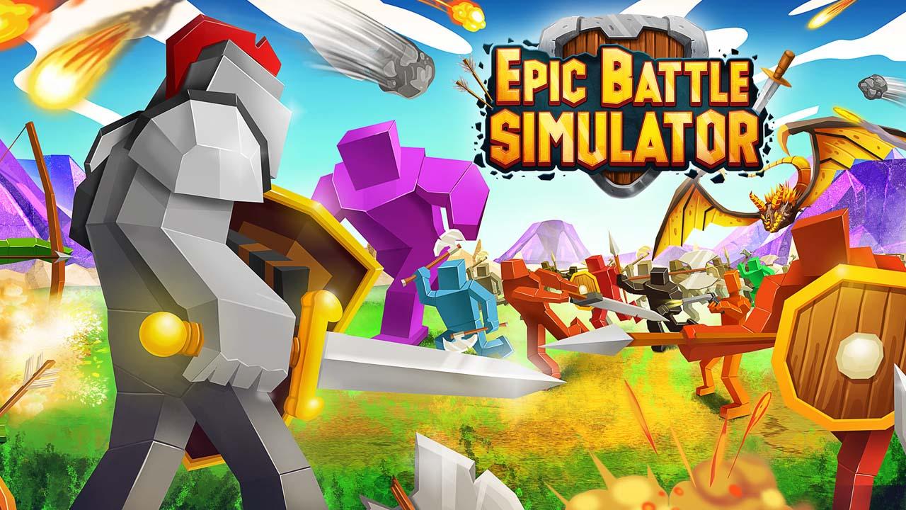 Epic Battle Simulator poster