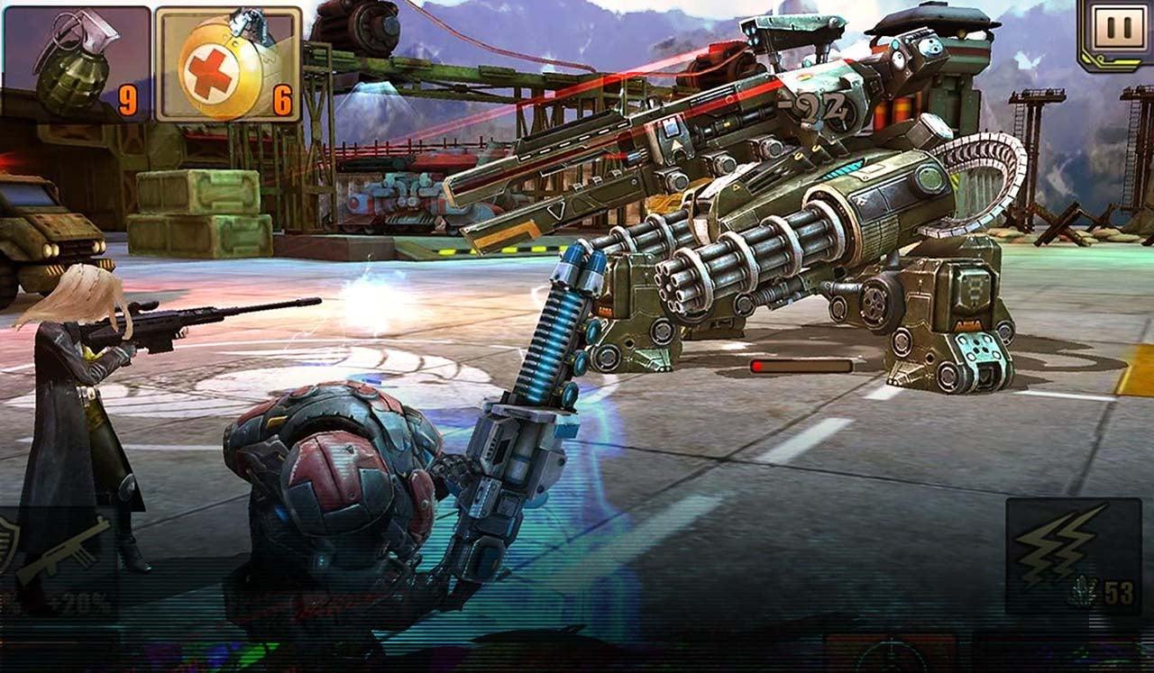 Evolution Battle for Utopia screen 2