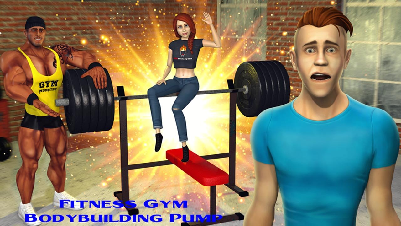 Fitness Gym Bodybuilding Pump poster