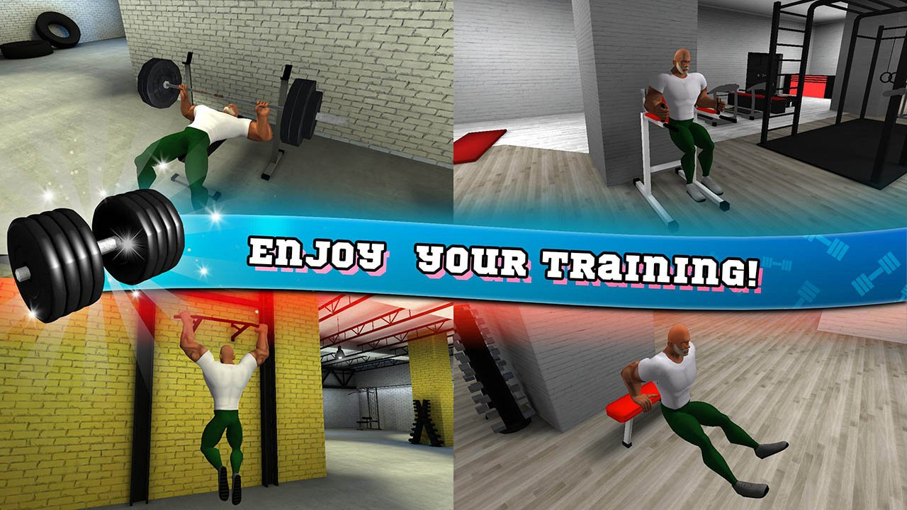 Fitness Gym Bodybuilding Pump screen 0