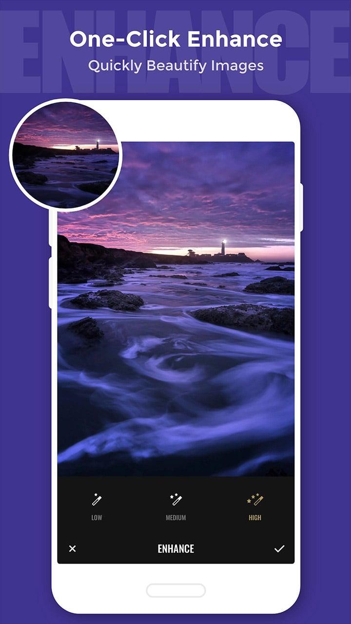 Fotor Photo Editor screen 1