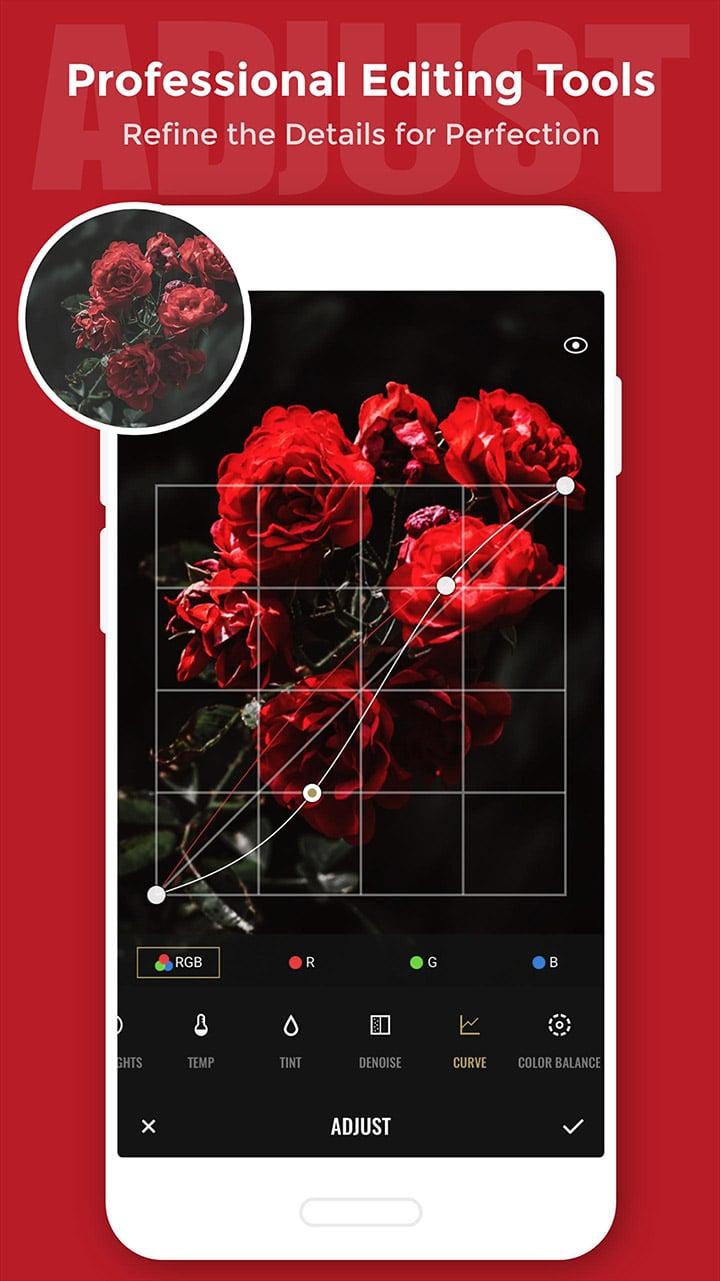 Fotor Photo Editor screen 2