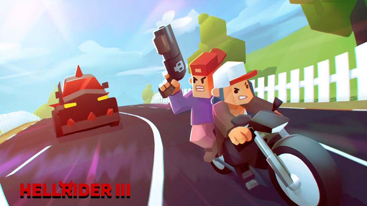 Hellrider 3 poster