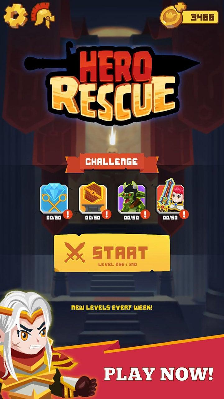Hero Rescue screen 4