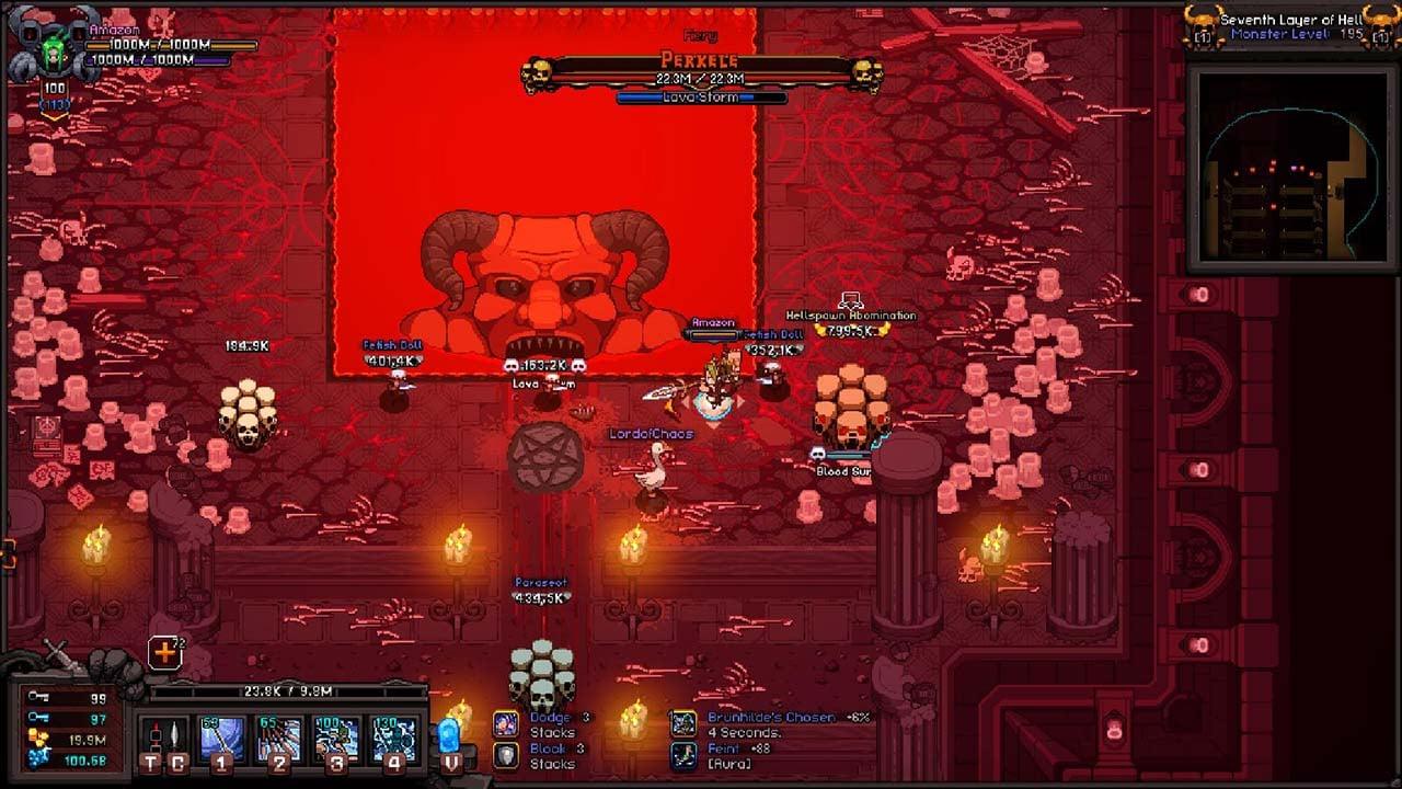 Hero Siege Pocket Edition screen 0